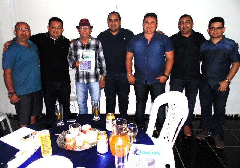 TONINHO, prefeito de Caridade do Piauí, como anunciado, muito prestigiado na noite da sexta-feira, 25 de janeiro!
