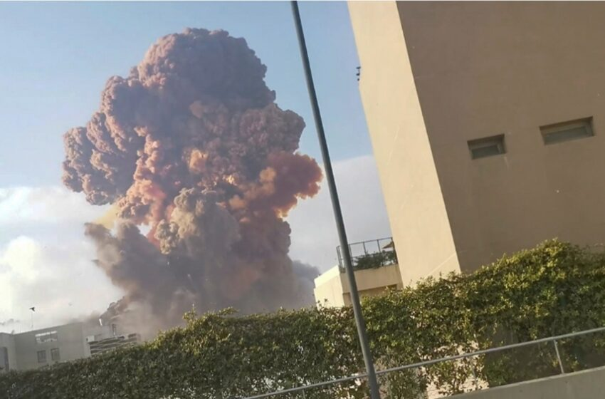 MARINHA diz que militares brasileiros no Líbano estão bem após explosões