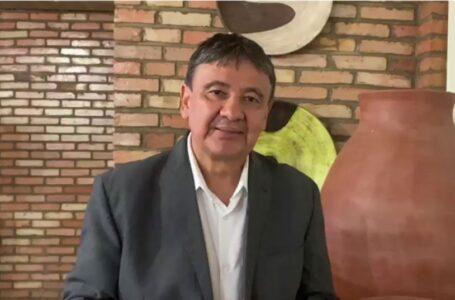 GOVERNADOR Wellington Dias disse que respeita decisão de Ciro Nogueira deixar o governo