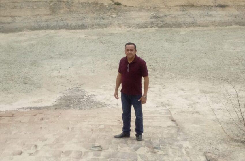 VEREADOR defende que a área do conhecido barreiro do estado, seja revitalizado