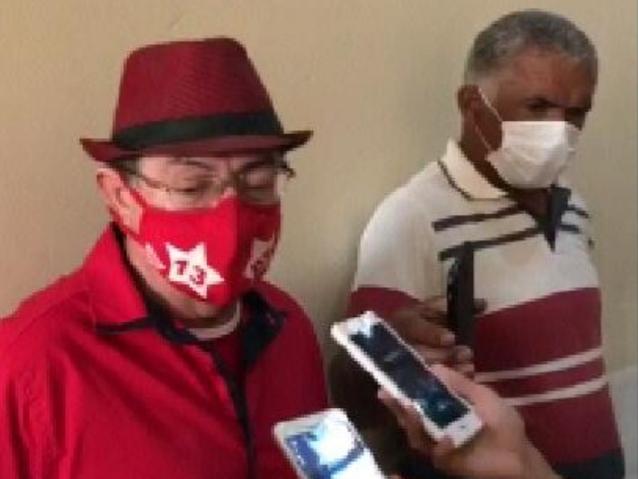 PREFEITO Chico Pitu fez uma observação na convenção: trocamos 400 por 800..