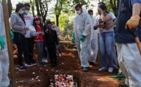 BRASIL passa de 130 mil mortos por Covid-19