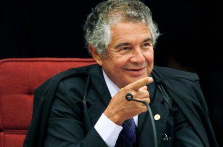 MARCO Aurélio diz que depoimento por escrito significa respeito a Bolsonaro
