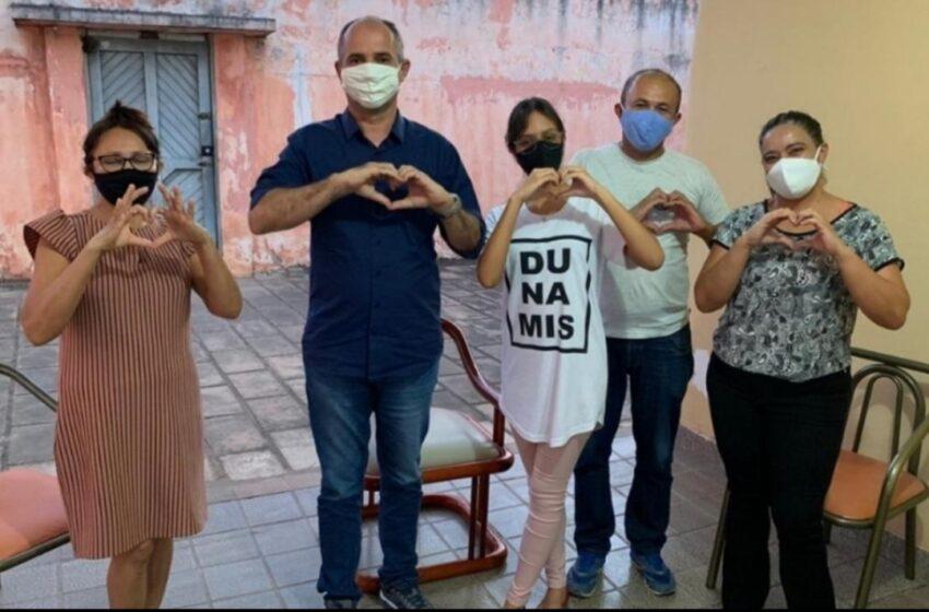 """TIÃO do Gesso, também conhecido como """"Tião do povo"""", intensifica visitas e ganha apoios no centro urbano de Araripina"""