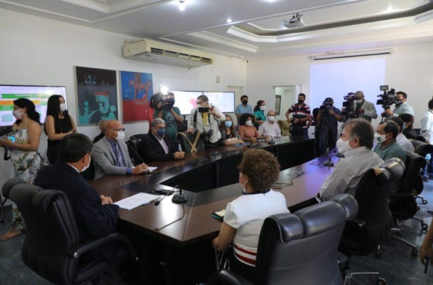 GOVERNO anuncia promoções, teletrabalho e institui cartão de crédito para servidores estaduais