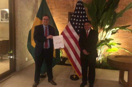 WELLINGTON acerta investimentos no Piauí e Nordeste em reunião com embaixador dos EUA