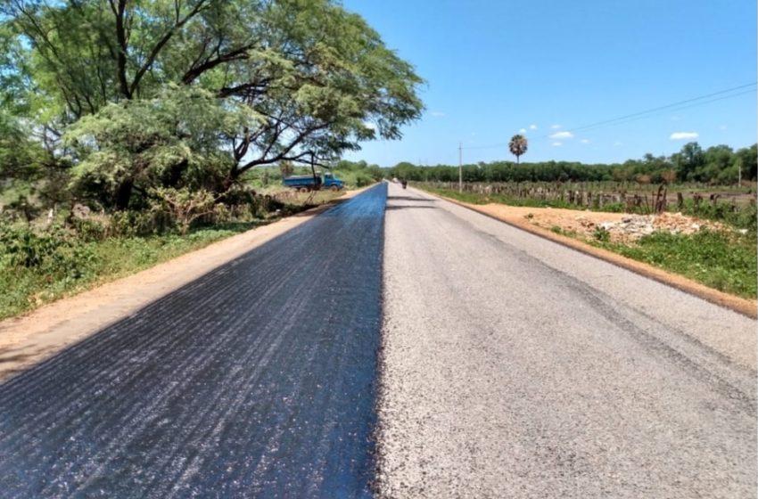 GOVERNO do Estado inicia obras na PI 141, que liga São João do Piauí a Brejo do Piauí