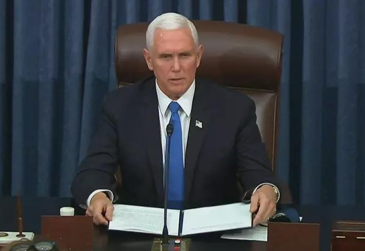 CONGRESSO dos Estados Unidos retoma sessão após invasão