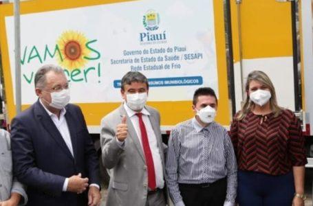 PIAUÍ inicia distribuição de insumos para vacinação contra a Covid em municípios
