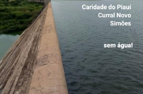 CARIDADE do Piauí, Curral Novo e Simões, sem água por conta da falta de energia elétrica