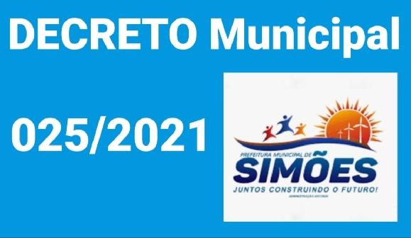PREFEITO de Simões (PI), Zé Wlisses, adotou novas medidas contra a Covid-19 no seu município