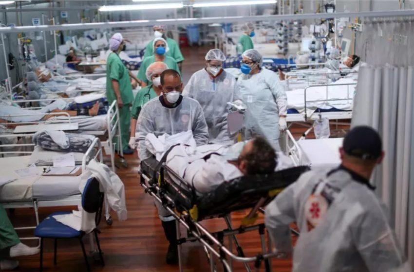 COM 1.803 mortes, Brasil tem domingo mais letal da pandemia
