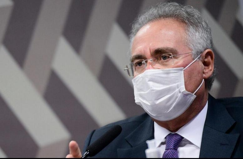 """BOLSONARO diz que o que mata é """"desvio de recurso em estado""""; Renan rebate"""