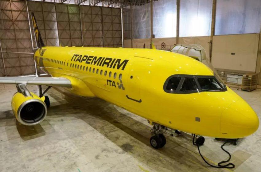 ITAPEMIRIM começa a receber aeronaves para voos comerciais após aval da Anac