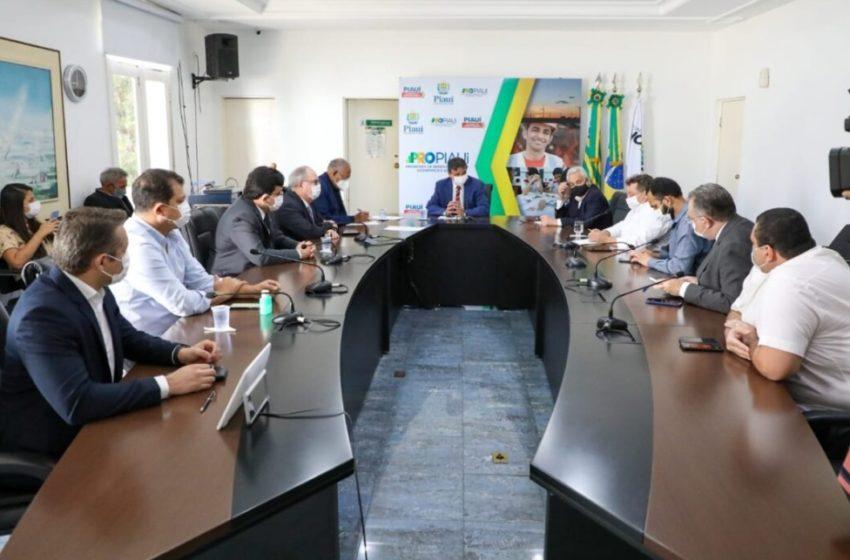 GOVERNADOR e prefeito de Teresina reforçam parceria para combater pandemia e nova cepa indiana