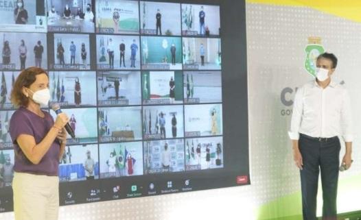 GOVERNO do Ceará anuncia tempo integral em 50% da rede de Ensino Médio