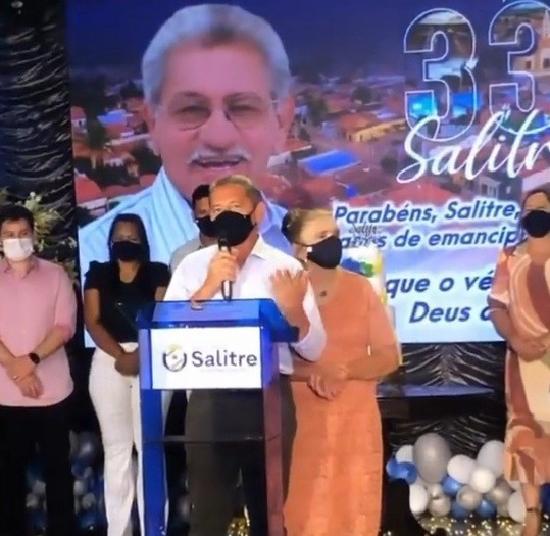 SALITRE: 33 anos de existência como cidade caçulinha da região do Cariri