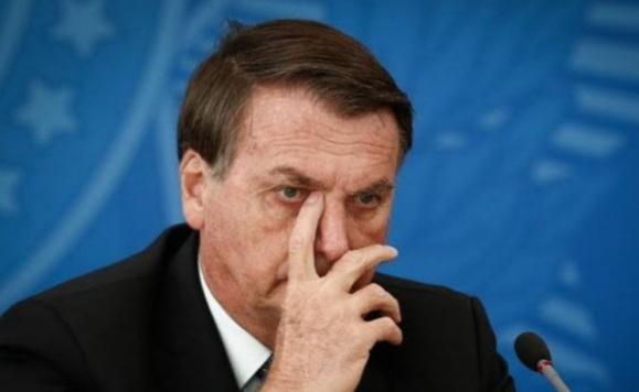 ACUADO, presidente Jair Bolsonaro não disfarça o medo da cadeia
