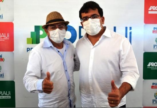 CHICO Pitu, ex-prefeito de Marcolândia, comemora ações do PRO Piauí na sua querida e amada Marcolândia