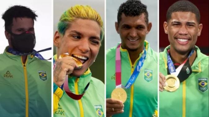 OLIMPÍADAS 2020: Ouros de atletas do Nordeste turbinaram desempenho do Brasil