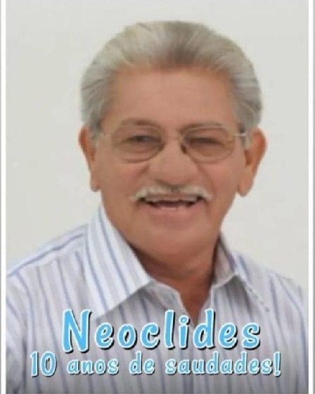 MISSA celebrada no domingo, 15 de agosto, em memória do verdadeiro líder político que Salitre já teve: ex-prefeito Neoclides