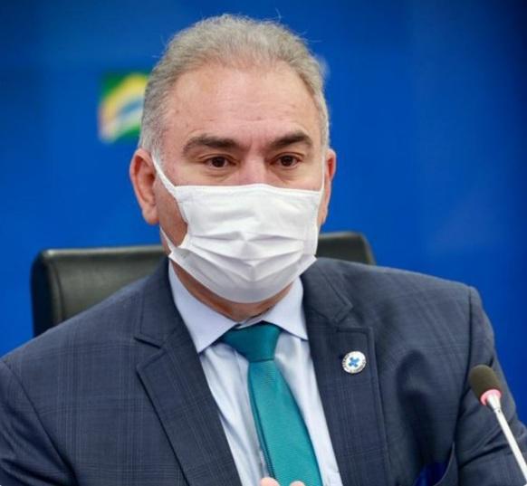 MINISTRO da Saúde, Marcelo Queiroga testa positivo para Covid-19